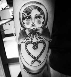babushka doll tattoo