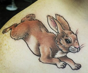 bunny rabbit tattoo